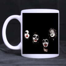 Rock Kiss Band Cover Album Custom Personalized Coffee Tea White Mug - $13.99