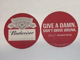 Lot Of (10) Budweiser King Of Beers Coasters - $10.00