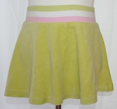 AMERICAN GIRL Size Small Velour Skirt Lime Gree... - $9.89