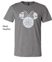 Halloween Minnie Mouse t shirt, minnie mouse glittered artwork design top tee image 6