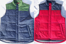 NEW with Tags Men's IZOD Puffer Vest Jacket Size Small Retail $98 - $35.00