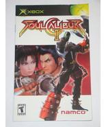 XBOX - SOUL CALIBUR 2 (Replacement Manual) - $8.00