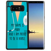 Personalized Case Fits Samsung Note 9 7 5 4 Proud to be a Nurse RN Custom - $13.98