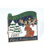 2002 Happy Vacanze Primo Americana Titolo Co.Natale Spilla - $9.29