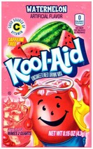 12 Packs of Kool Aid WATERMELON  Flavor Drink Mix Packet Gluten Free FRE... - $11.88