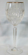 "Waterford Grenville Gold Wine Stem Goblet 8"" - $55.33"