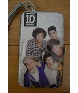 One Direction 1D Silver Photo Smartphone Wristlet Wallet  - NWT - $15.00