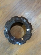 Moulinex 308 Food Processor Prep Replacement Parts Brown Auger Housing Lock Ring - $3.96