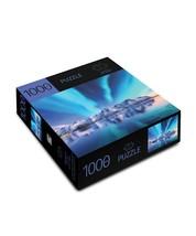 "Aurora Mountains Jigsaw Puzzle 1000pc 27"" x 20"" When Complete Durable Fit Piece image 2"