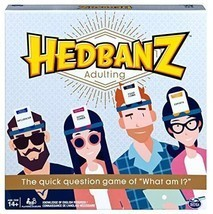Spin Master Games Hedbanz Adulting, Hilarious Party Game of Guessing and... - $21.00