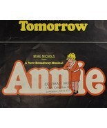 Tomorrow from Broadway Musical Annie Piano & Lyrics Charnin Strouse 1977 - $11.25