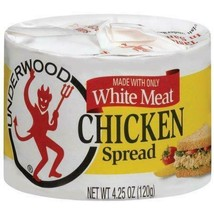 Underwood Chicken Spread Made with White Meat 4.25 oz ( Pack of 6 ) - $24.50