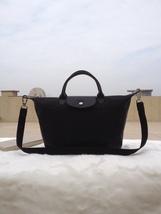 Longchamp Le Pliage Large Black Handbag Neo Shoulder Strap 1515578001 - $79.99