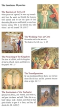 A Guide To Praying The Rosary ( 5 Pamphlet ) image 4