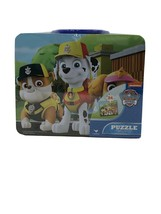 Cardinal Nickelodeon Paw Patrol 24 Piece Puzzle in a Tin Lunch Box New - $14.16