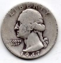1947 P Washington Quarter - 90% silver - $6.00
