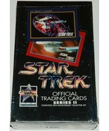 Star Trek TOS and TNG TV Official Trading Cards Series II Impel 1991 SEA... - $14.50