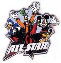 Disney's All Star Resorts (FAB 4)  AUTHENTIC WDW DISNEY PIN - $16.99