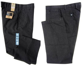 Dockers D2 Flat Front Straight Fit Charcoal Signature Khaki Pants 32x32 ... - $18.37
