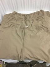 Dickies Pants Mens 4X 3 Pair Drawstring Waist Cargo Pocket Tan Scrub Work - $24.75