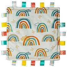 Taggies Original Blanket, 12 x 12-Inches, Rainbow - $20.99