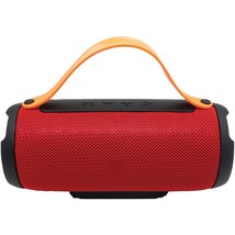 Supersonic Bluetooth Portable Speaker With Built-in Strap (red) SSCSC232... - $52.75 CAD