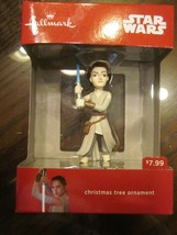 HALLMARK 2016 STAR WARS REY CHRISTMAS TREE ORNAMENT BRAND NEW - $14.99