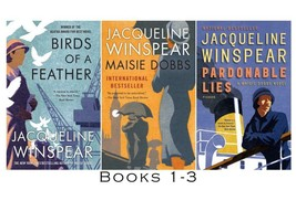 MAISIE DOBBS Mystery Series by Jacqueline Winspear Set of Paperback Book... - $42.99