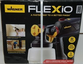Wagner 0529086 Indoor Outdoor Paint Sprayer FLEXio 2000 New in Box image 1