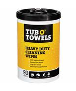 """Tub O Towels Heavy Duty Multi Surface Cleaning Wipes, 10"""" x 12"""" Size, 90... - $16.21"""