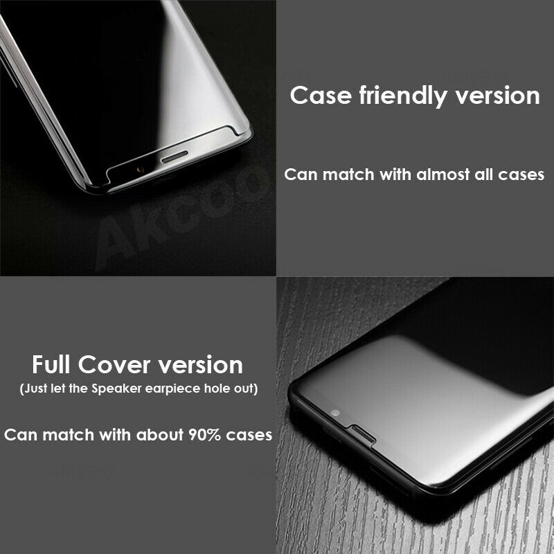 2019 UV Liquid Glass Samsung Galaxy Note 8 Screen Protector Case Friendly Film 9 image 6