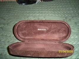 Genuine TOM FORD Brown Velvet Plush Clam Hard Sunglasses Glasses Clamshell Case - $9.89