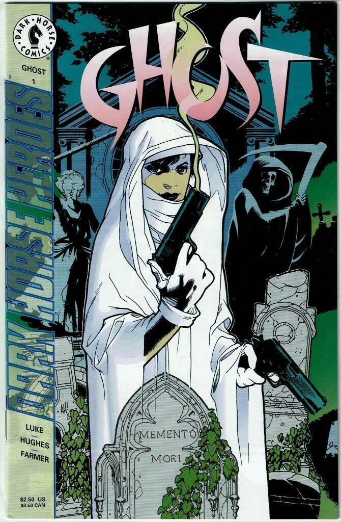 COMICS' GREATEST WORLD: GHOST #1, OUT OF THE VORTEX #1, X #1  - All Near Mint