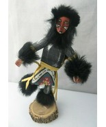 Vintage Native American Kachina Navajo Indian Doll Dancer Handmade Signed  - $55.00