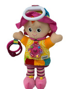 Tomy Lamaze Plush Activity Doll My Friend Emily Crinkly Rattle Rings w/ ... - $13.99