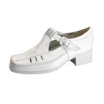 24 HOUR COMFORT Juno Women's Wide Width T-Strap Comfort Leather Shoes - $39.95