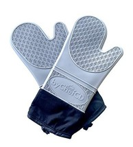 ByChefCD Long Silicone Oven Mitts - Silicone Mitts, Heat Resistant (Long... - $26.86