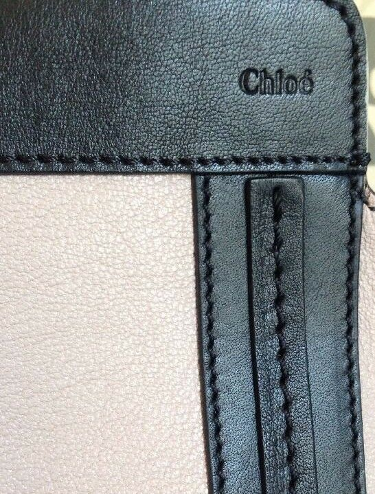 Chloe Alison Tote Bag Leather Tea Petal and Black Medium Handbag RRP £880  image 3