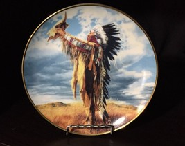 "Franklin Mint 1991 Collector's Plate ""Prayer to... - $9.49"