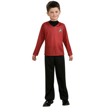 Star Trek Movie Scotty Red Shirt Costume - Child Size Medium 8-10 nwt - $14.85