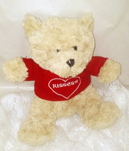 "Hershey Kisses Plush Bear - 10"" Sitting - Soft & Cuddly - Clean & Nice! - $14.01"
