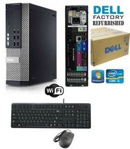 Dell Optiplex 990 SFF PC i5/i7 4-8-16 Ram HD-SSD Windows 10 HP-Pro Wifi CDRW - $220.53+