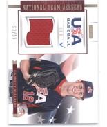 2012 Panini USA Baseball 18U National Team Jerseys #19 Garrett Williams ... - $35.00