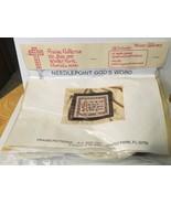 Praise Patterns Needlepoint Kit Joshua 24:15 - $28.04