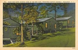 North Carolina NC  RIDGECREST BAPTIST ASSEMBLY Bird Huts~Cabins~Night Po... - $5.85
