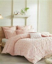 Urban Habitat Brooklyn Comforter 5-Pc Set Twin/Twin Xl Size - Pink Tufted Cotton image 2