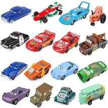 Disney Pixar Cars 2 3 Lightning McQueen Mater Jackson Storm Ramirez 1:55... - $9.49