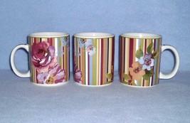 Laura Ashley Lifestyles Hampshire Floral 3 Mugs 2004 - $9.99