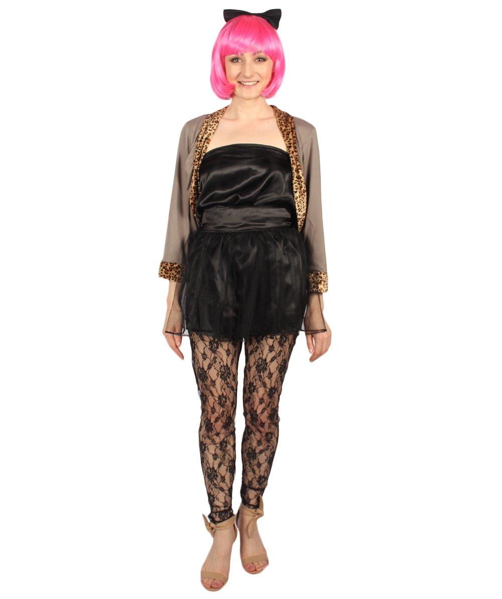 Adult Women's Wild 80's Costume   Multi-Color Cosplay Costume HC-1548 - $25.85