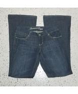 Women's American Eagle Denim Jeans ~ Sz 2 Reg ~ Flare ~ 100% Cotton - $16.82